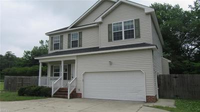 Chesapeake Single Family Home New Listing: 1205 Old Deep Creek Blvd