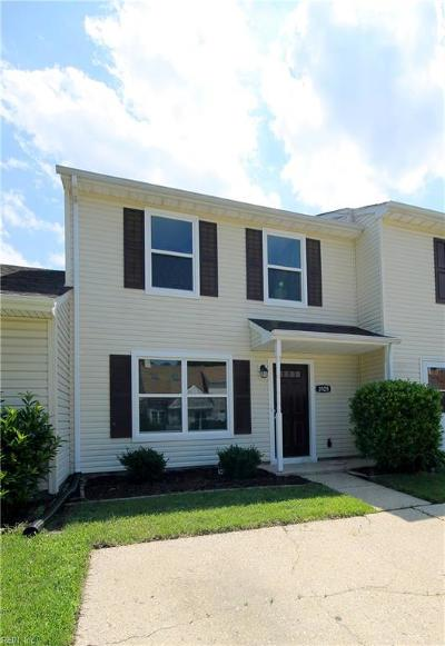 Virginia Beach VA Single Family Home New Listing: $189,900