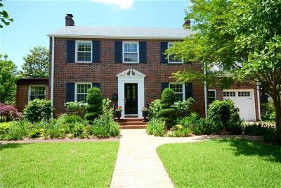 Norfolk Single Family Home New Listing: 6087 River Rd