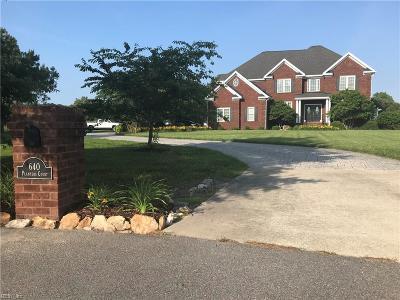 Virginia Beach Single Family Home New Listing: 640 Planters Ct