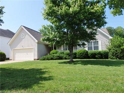 Virginia Beach VA Single Family Home New Listing: $375,000