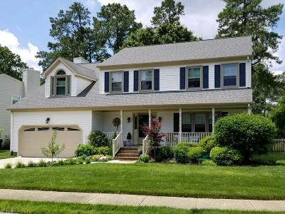 Hampton Single Family Home New Listing: 129 Pine Creek Dr