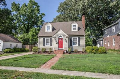 Newport News Single Family Home New Listing: 194 River Rd