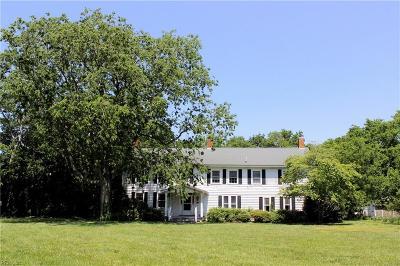 Accomack County, Northampton County Single Family Home For Sale: 6231 Bayford Rd