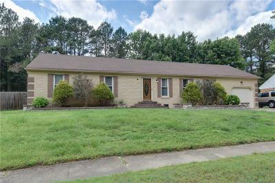 Chesapeake Single Family Home New Listing: 2740 Horseshoe Dr