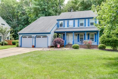 Chesapeake Single Family Home New Listing: 2003 Brier Cliff Cres