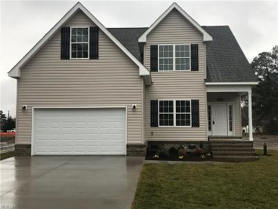 Chesapeake Single Family Home New Listing: 1213 Glen Lndg