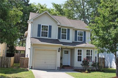 Chesapeake Single Family Home New Listing: 203 Gale Ave