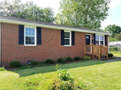 Portsmouth Single Family Home New Listing: 4828 Deep Creek Blvd