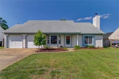 Virginia Beach VA Single Family Home New Listing: $285,000