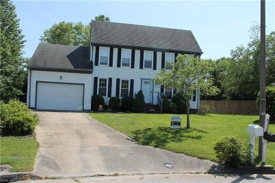 Virginia Beach Single Family Home New Listing: 1613 Milldale Ct