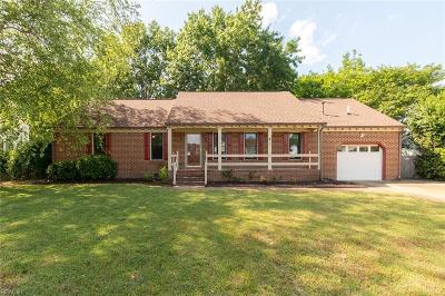 Chesapeake Single Family Home New Listing: 1312 Winfall Dr