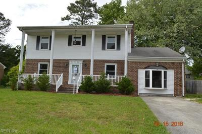 Newport News Single Family Home New Listing: 448 Putney Ln