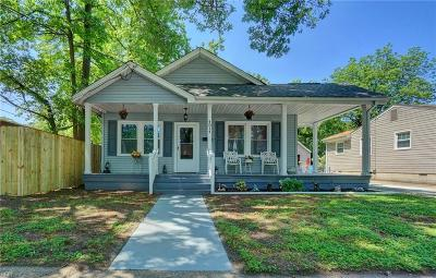 Norfolk Single Family Home New Listing: 4814 Larkin St