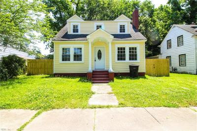 Portsmouth Single Family Home New Listing: 56 Prospect Pw