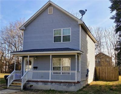 Suffolk Single Family Home New Listing: 130 S 5th St