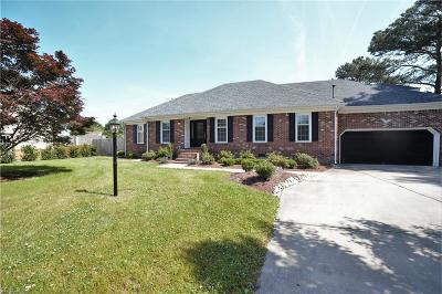 Chesapeake Single Family Home New Listing: 725 Keri Court Ct
