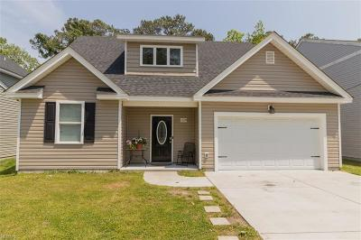 Chesapeake Single Family Home New Listing: 1128 Myrtle Ave