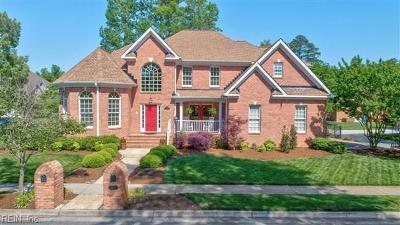 Chesapeake Single Family Home New Listing: 1013 Timber Neck Mall