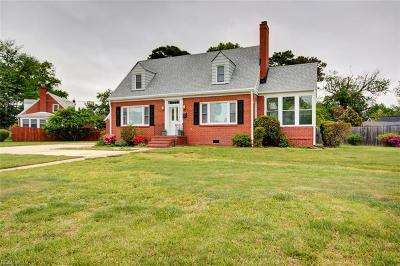 Hampton Single Family Home New Listing: 4001 Monitor Dr