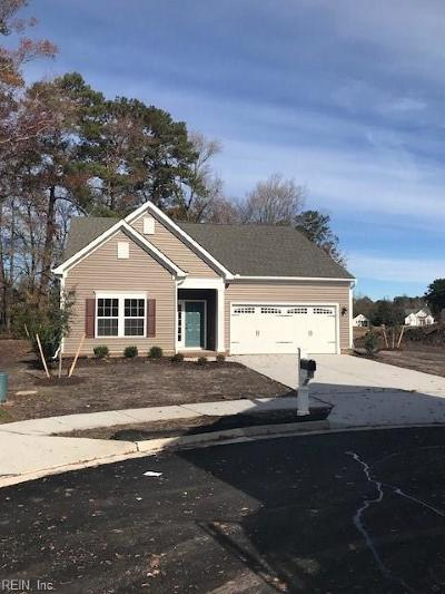 Chesapeake Single Family Home Under Contract: 507 Schaefer Ave