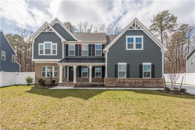 Chesapeake Single Family Home New Listing: 1141 Annie Olah Cres