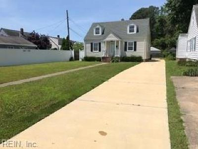 Hampton Single Family Home New Listing: 205 Shenandoah Rd