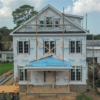 Virginia Beach Single Family Home For Sale: 217 69th St #B