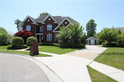 Chesapeake Single Family Home New Listing: 801 Gilchrist Ct