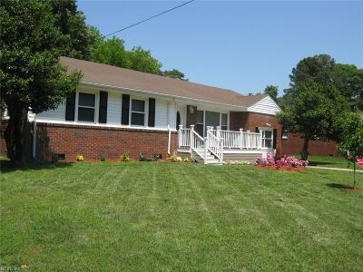 Portsmouth Single Family Home New Listing: 3716 Shannon Rd