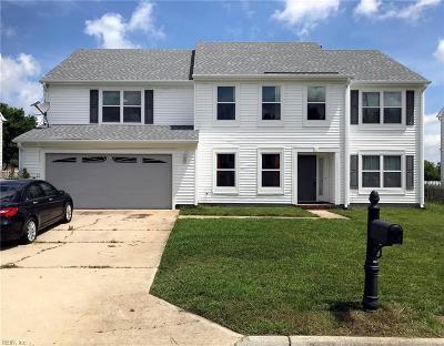 Chesapeake Single Family Home New Listing: 2720 Bear Creek Ln