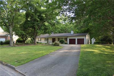 Newport News Single Family Home New Listing: 25 Jonquil Ln