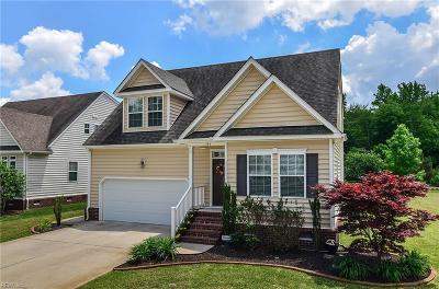Chesapeake Single Family Home New Listing: 734 Creekwood Dr