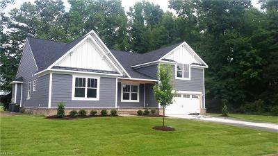 Suffolk Single Family Home New Listing: 5034 Riverfront Dr