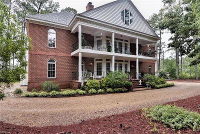 Yorktown VA Single Family Home For Sale: $1,095,000
