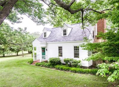 Accomack County, Northampton County Single Family Home For Sale: 11576 Sparrow Point Rd