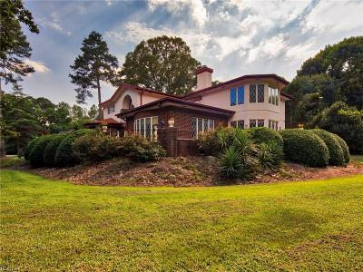 Chesapeake Single Family Home For Sale: 421 Mill Stone Rd