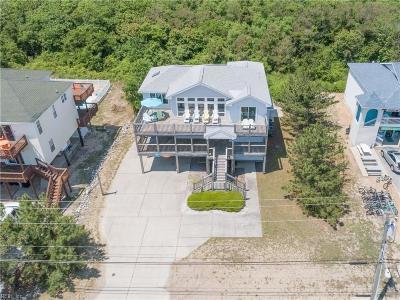 Sandbridge Beach Single Family Home For Sale: 2553 Sandpiper Rd