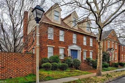 Norfolk Single Family Home For Sale: 338 W Olney Rd
