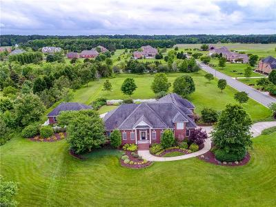 Chesapeake Single Family Home Under Contract: 928 Two Gates Cir