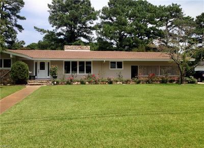 Portsmouth Single Family Home For Sale: 112 Snead Fairway