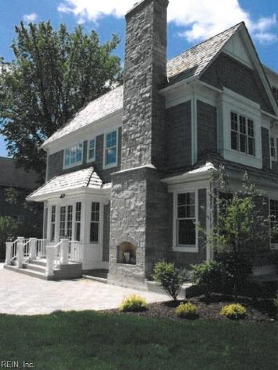 Virginia Beach Single Family Home For Sale: 112 69th St #B