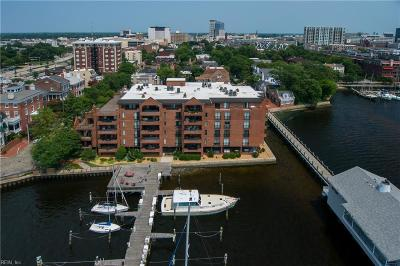 Norfolk Single Family Home For Sale: 421 W Bute St #304