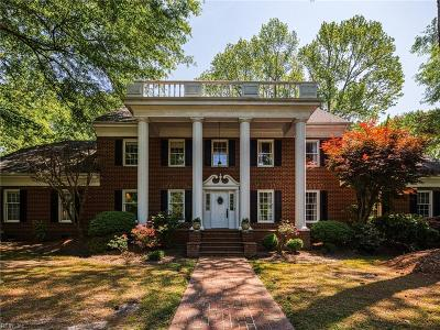 Chesapeake Single Family Home For Sale: 408 Mill Stone Rd