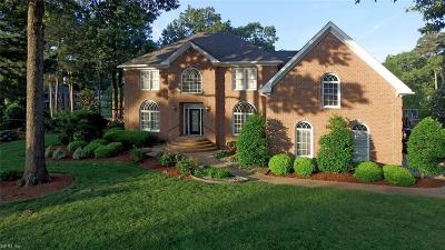 Virginia Beach Single Family Home For Sale: 1801 Keelingwood Ln