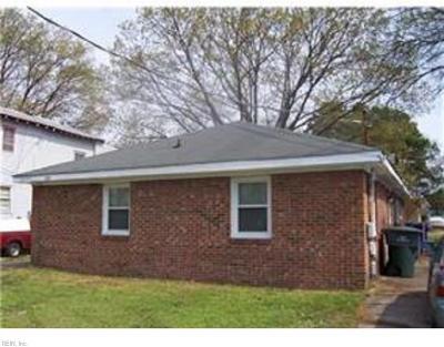 Norfolk Multi Family Home For Sale: 1524 Rush St