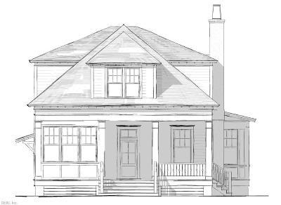 Virginia Beach Single Family Home For Sale: 336 Dorsey Ln