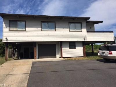 Sandbridge Beach Single Family Home For Sale: 2360 Sandfiddler Rd