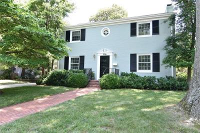 Hampton Single Family Home For Sale: 206 Porter Ave