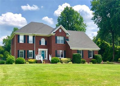 Suffolk Single Family Home For Sale: 110 Lookout Cir